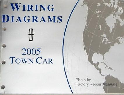 2005 lincoln town car electrical wiring diagrams original ford manual factory repair manuals 1989 Lincoln Town Car Wiring Diagram 2005 lincoln town car radio wiring diagram