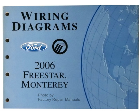 2006 ford freestar mercury monterey electrical wiring. Black Bedroom Furniture Sets. Home Design Ideas