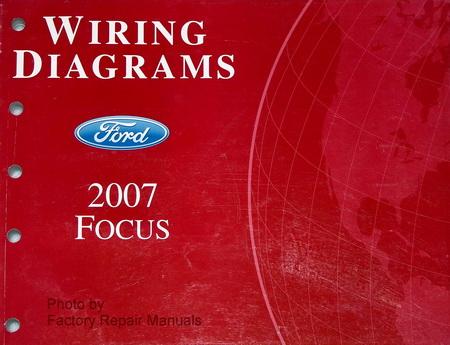 2007 Ford Focus Electrical Wiring Diagrams - Original ...