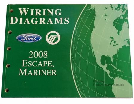 2008 ford escape mercury mariner electrical wiring. Black Bedroom Furniture Sets. Home Design Ideas