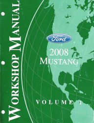 2008 Ford Mustang Factory Service Manuals
