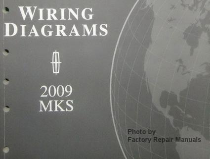 2009 lincoln mks electrical wiring diagrams original. Black Bedroom Furniture Sets. Home Design Ideas