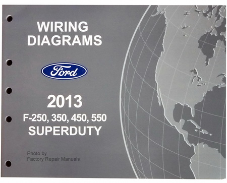 2013 ford f-250 f350 f450 f550 superduty truck electrical ... electrical wiring diagram 89 ford f 250 #15