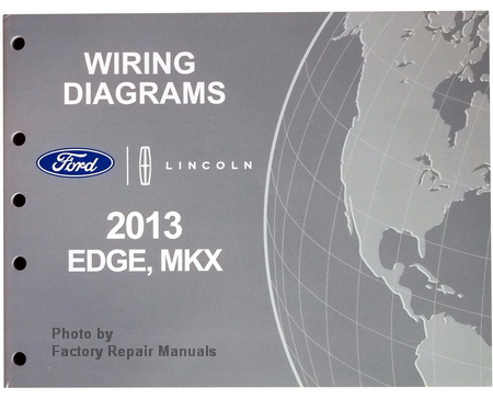 2013 ford edge fuse diagram 2013 ford edge wiring schematic 2013 ford edge & lincoln mkx electrical wiring diagrams ...