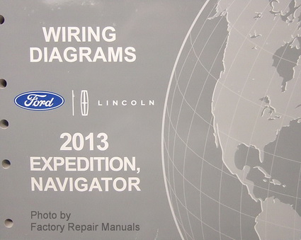 2013 ford expedition and lincoln navigator electrical wiring rh factoryrepairmanuals com  2013 ford expedition radio wiring diagram