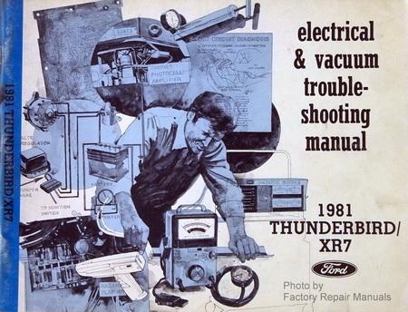 1981 Ford Thunderbird Mercury Cougar XR7 Electrical ...