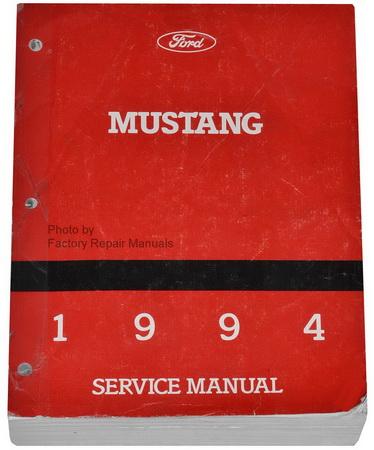 1994 ford mustang factory service manual original shop. Black Bedroom Furniture Sets. Home Design Ideas
