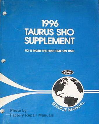 1996 ford taurus sho factory service manual supplement. Black Bedroom Furniture Sets. Home Design Ideas
