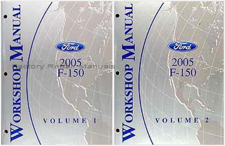 2005 Ford F-150 Truck Factory Dealer Shop Service Manuals