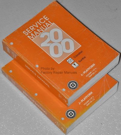 2000 chevy cavalier repair manual pdf
