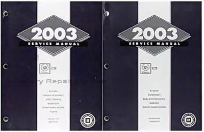 2003 cadillac cts repair manual