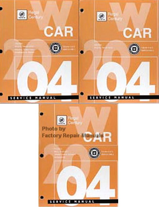 2004 Buick Century Amp Regal Factory Service Manual Complete border=
