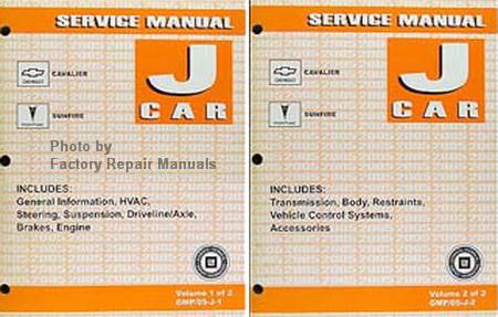 2005 pontiac sunfire service manual