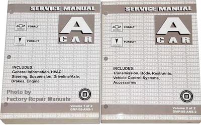 2005 chevrolet cobalt pontiac pursuit factory shop service manual rh factoryrepairmanuals com OEM Clothing Service OEM Systems and Services