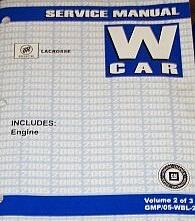 2005 buick lacrosse allure factory service manual shop repair set rh factoryrepairmanuals com 2015 Buick Lacrosse Interior 2005 buick allure service manual