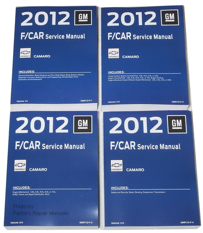 200 Chevrolet Express & GMC Savana Vans Factory Service Manuals