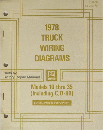 1978 chevy gmc truck van suburban blazer 10 35 electrical. Black Bedroom Furniture Sets. Home Design Ideas