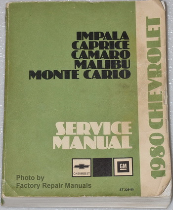 gm service information accessories manual