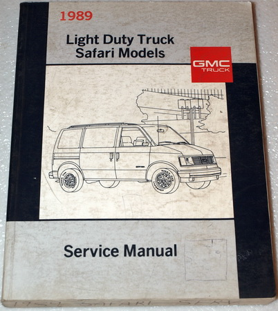 1989 gmc safari van factory service manual passenger 1972 gmc factory assembly manual gmc factory service manuals