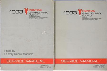 1993 Pontiac Grand Prix Factory Service Manual Set