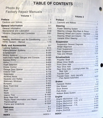 1998 gmc chevy c k 1500 2500 3500 truck tahoe suburban yukon service rh factoryrepairmanuals com 72 Chevrolet Repair Manual Chevy Truck Repair Manual