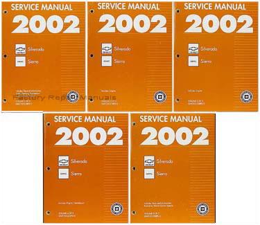 2002 GMC Sierra & Chevrolet Silverado   Factory Service Manuals