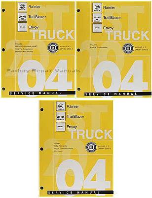2004 Buick Rainier Chevrolet Trailblazer Gmc Envoy Shop border=