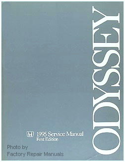 1995 Honda Odyssey Factory Dealer Service Manual
