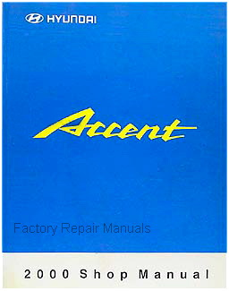 2000 hyundai accent factory shop service repair manual Hyundai Accent Service Manual PDF Hyundai Accent Service Manual PDF