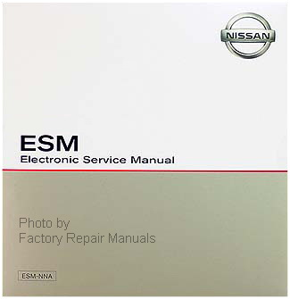 2008 Nissan 350Z Factory Electronic Service Manual CD-ROM