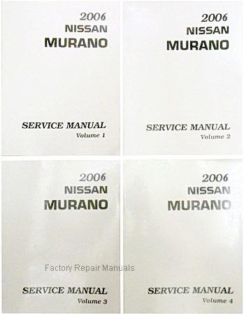 nissan murano service manuals
