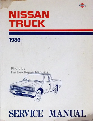 1986 nissan 720 truck factory service manual original shop repair rh factoryrepairmanuals com Used Nissan Pickup Trucks Nissan Pickup 4x4
