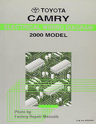 2000 toyota camry electrical wiring diagrams. Black Bedroom Furniture Sets. Home Design Ideas