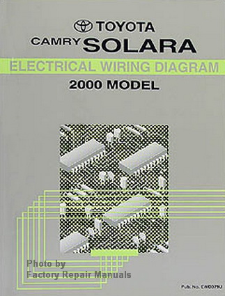 2000 Toyota Camry Solara Electrical Wiring Diagrams ...