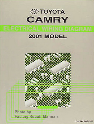 2001 toyota camry electrical wiring diagrams original. Black Bedroom Furniture Sets. Home Design Ideas