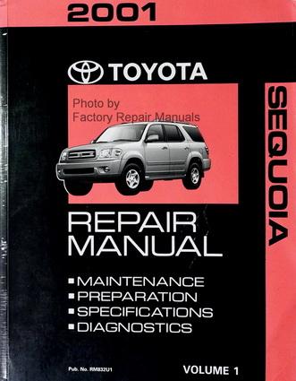 2001 toyota sequoia factory service manual volume 1 only factory rh factoryrepairmanuals com 1991 toyota truck repair manual 1991 toyota truck repair manual