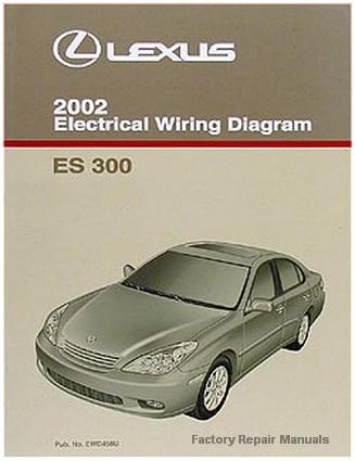 2002 Lexus ES300 Electrical Wiring Diagrams - Original ES ...