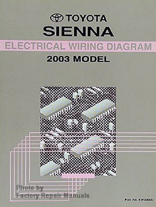2003 toyota sienna electrical wiring diagrams original. Black Bedroom Furniture Sets. Home Design Ideas