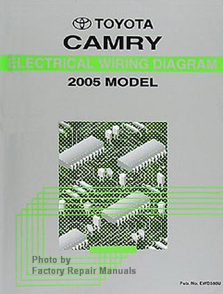 2005 toyota camry electrical wiring diagrams original. Black Bedroom Furniture Sets. Home Design Ideas