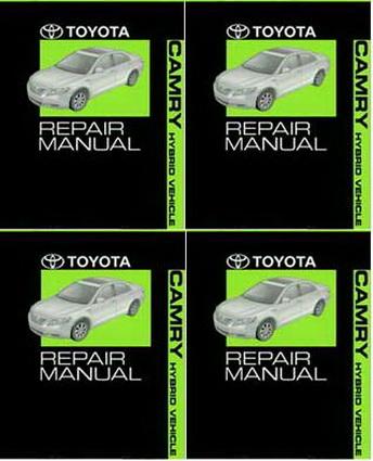 2007 Toyota Camry Hybrid Factory Service Manual 4 Volume ...