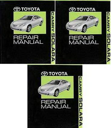 2008 toyota camry solara factory service manual set original shop repair factory repair manuals. Black Bedroom Furniture Sets. Home Design Ideas