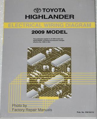 2009 Toyota Highlander Electrical Wiring Diagrams ...