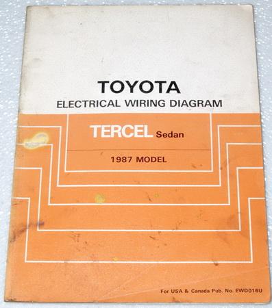 1987 toyota tercel electrical wiring diagrams sedan. Black Bedroom Furniture Sets. Home Design Ideas
