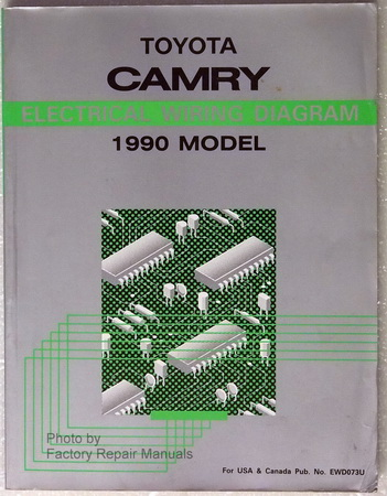 1990 Toyota Camry Electrical Wiring Diagrams - Factory ...