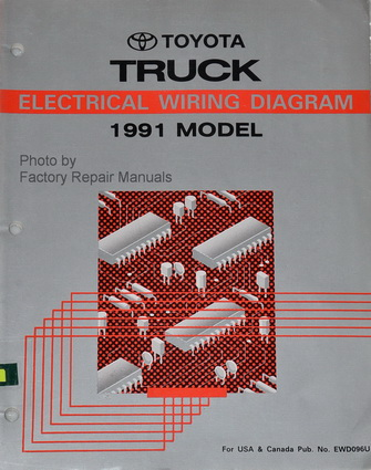 1991       Toyota       Pickup       Truck    Electrical    Wiring       Diagrams