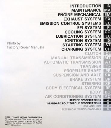 1992 toyota pickup truck factory service manual set shop repair new rh factoryrepairmanuals com 1992 Ford Van Ford Nite
