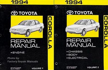 wiring diagram for 1996 club car 48 volt 1994 toyota corolla factory service repair manuals