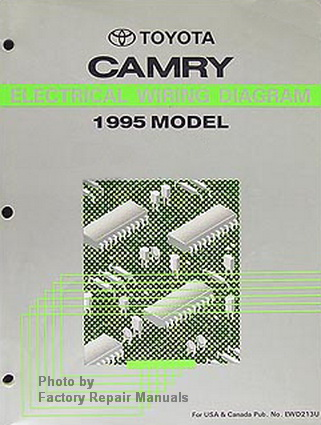 1995 Toyota    Camry       Electrical       Wiring       Diagrams    Original Factory Manual  Factory Repair Manuals