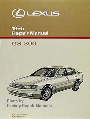 1996 lexus gs300 factory service manual gs 300 shop. Black Bedroom Furniture Sets. Home Design Ideas