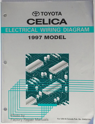 1997 toyota celica electrical wiring diagrams original ... 1994 toyota celica wiring diagram
